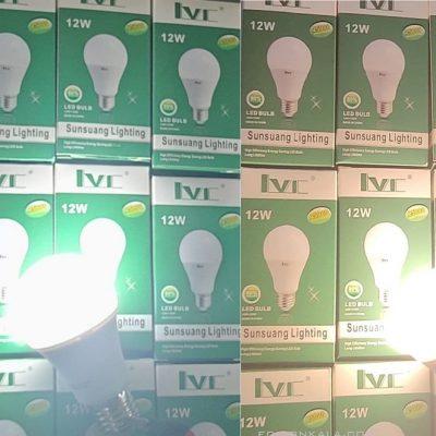 لامپ ال ای دی 12 وات ال وی سی