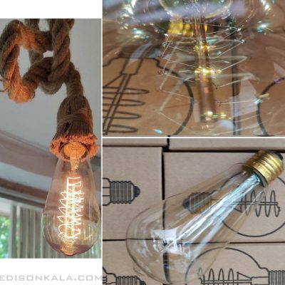 لامپ های کهربایی st64