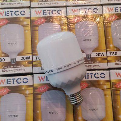 لامپ ال ای دی 20 وات وتکو