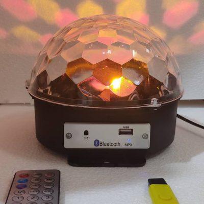 لامپ رقص نور نیم کره magic ball crystal