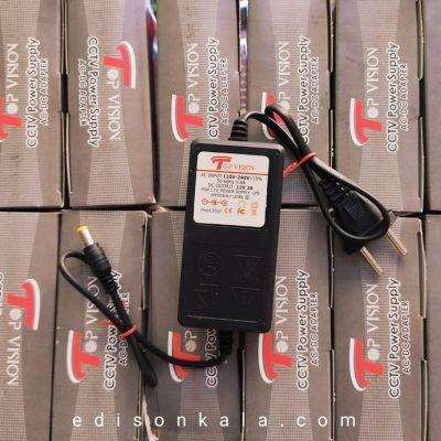 مبدل 12 ولت 2 آمپر تاپ ویژن