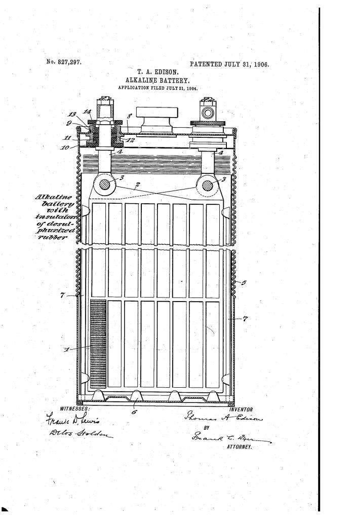 باتری قلیایی برای ماشین های الکتریکی